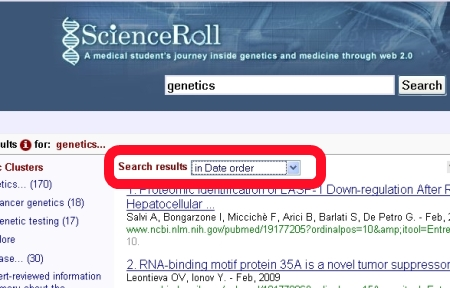 scienceroll-search-date-order