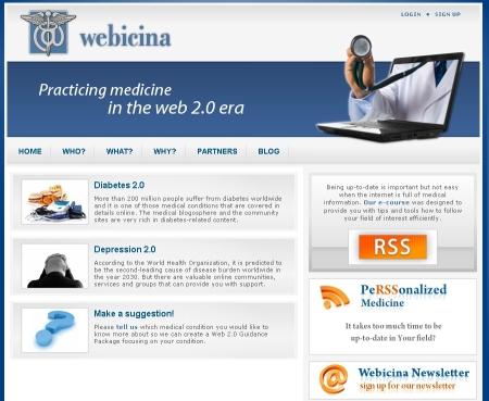 Webicina.com Patients' Page