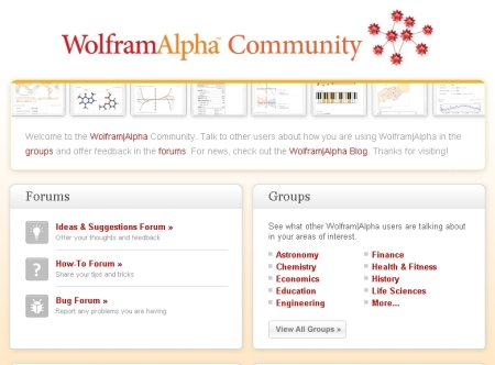 wolframalpha community