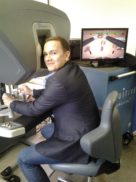 Using a Da Vinci surgical robot actually requires some kind of video game skills as well.