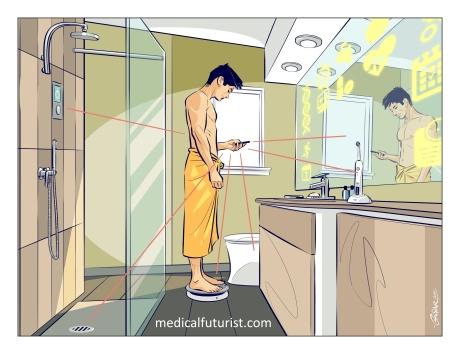 Intelligent bathroom_hi2