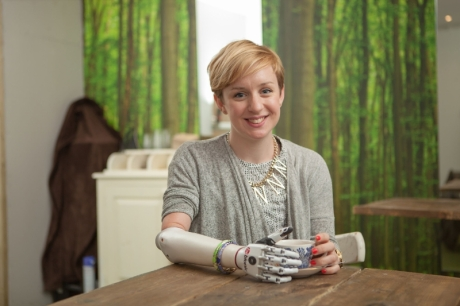 First UK user receives world's most lifelike bionic hand: Nicky Ashwell becomes first UK user
